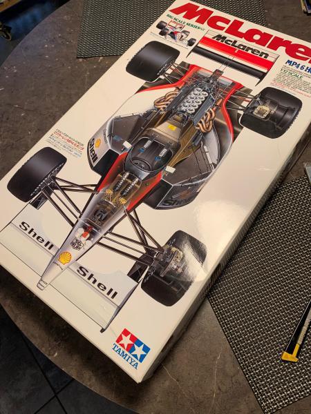 MCLAREN MP4/6 Magic Senna 1991, Tamiya 1/12 Mini_i70