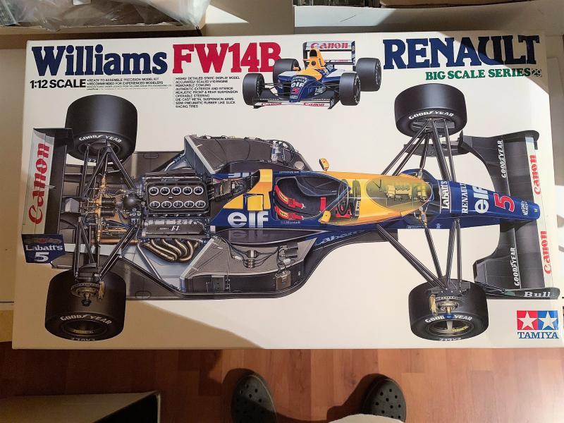F1 Williams Renault FW14B (1/12 Tamiya) Mini_k14