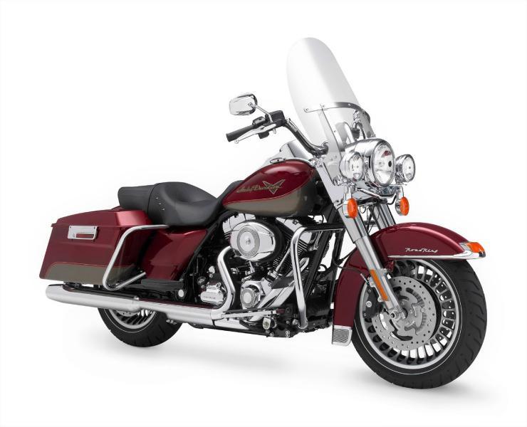 Harley Road King FLHRI au 1/6 Mini_k27