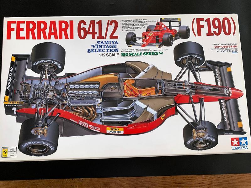 FERRARI F190 Alain Prost 1990, Tamiya 1/12 Mini_k33