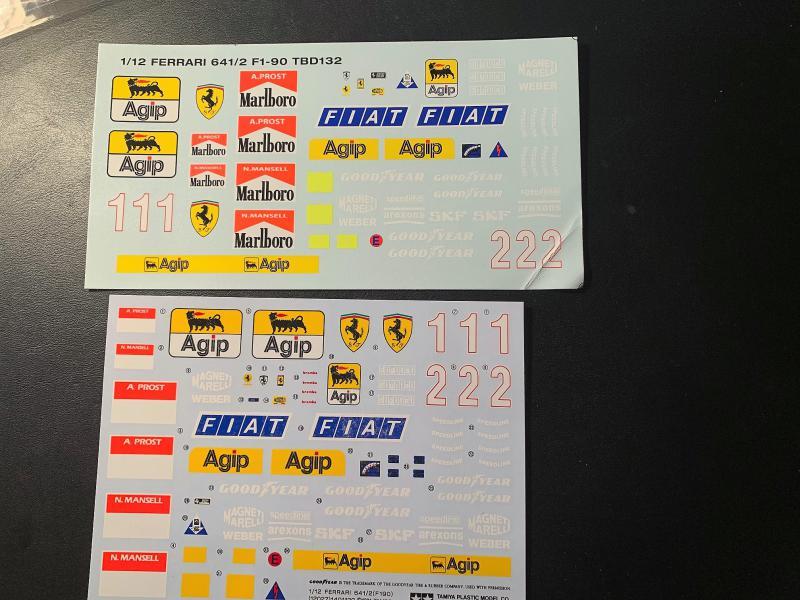 FERRARI F190 Alain Prost 1990, Tamiya 1/12 - Page 2 Mini_k51