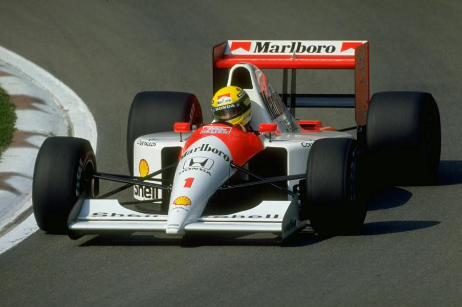 MCLAREN MP4/6 Magic Senna 1991, Tamiya 1/12 Mini_m11