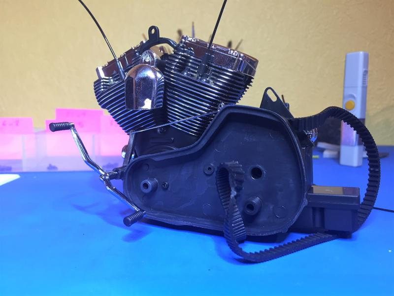 Harley Ultra Classic Electra Glide 1/6 Mini_w26