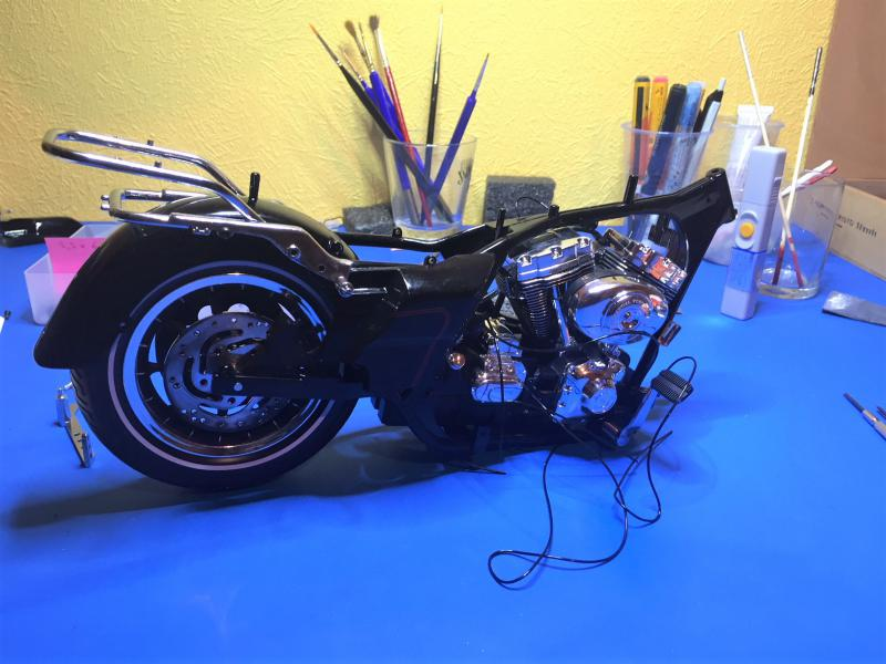 Harley Ultra Classic Electra Glide 1/6 Mini_w30