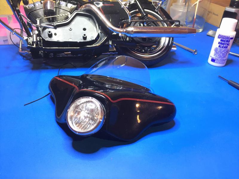 Harley Ultra Classic Electra Glide 1/6 Mini_w31