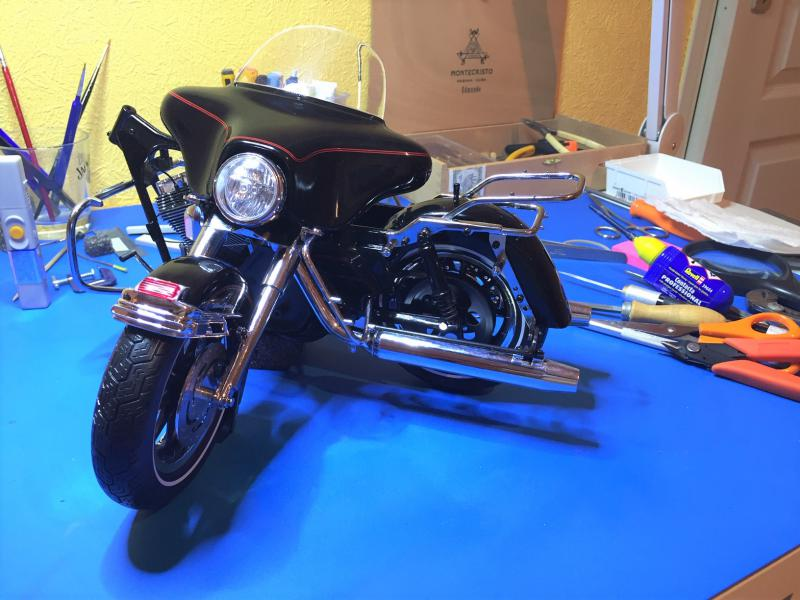 Harley Ultra Classic Electra Glide 1/6 Mini_w33