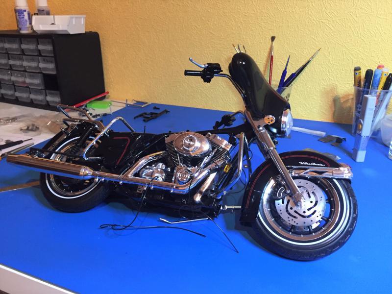 Harley Ultra Classic Electra Glide 1/6 Mini_w34