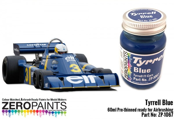 F1 Tyrell P34 (six roues) au 1/12 1976 Zp106711