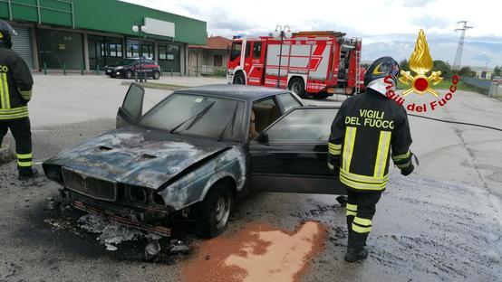 Maserati in fiamme Image10