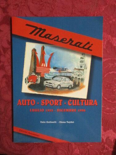 Libro - Maserati Auto - Sport -Cultura (luglio 1993 - dicembre 1996) Libro_10