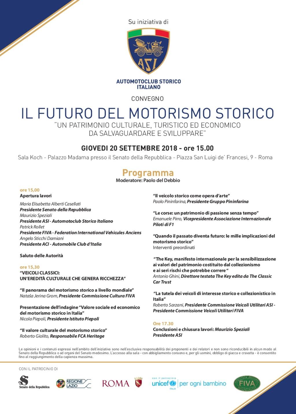 Casellati,auto d'epoca eccellenza Italia Progra10