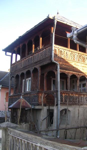 Quelques photos de mon périple dans les Carpates Maison11