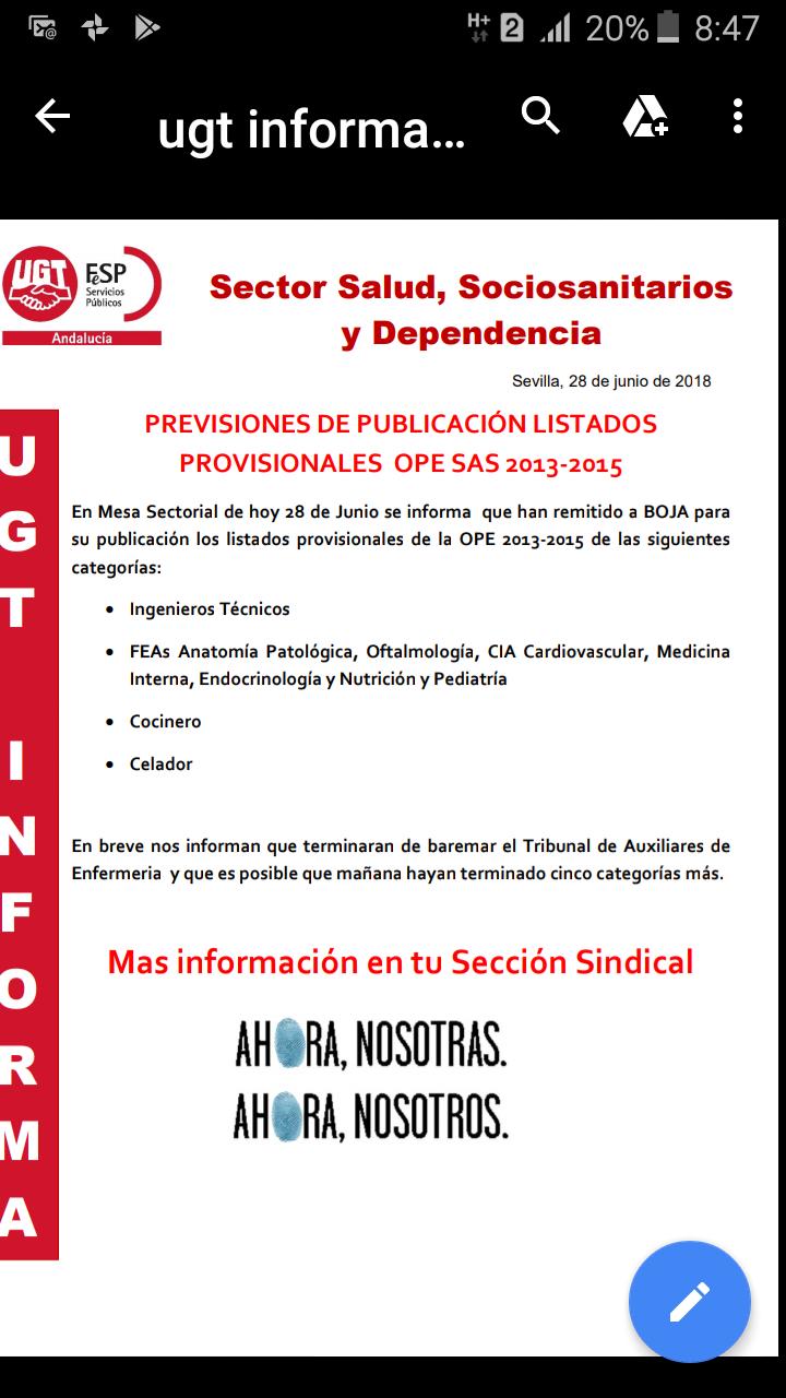 Lista de aprobados oposiciones 2015 YA!!! Screen10