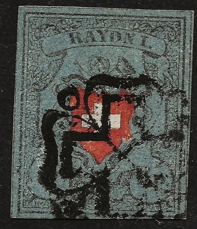 SBK 15I, Rayon I, dunkelblau mit Kreuzeinfassung 20180210