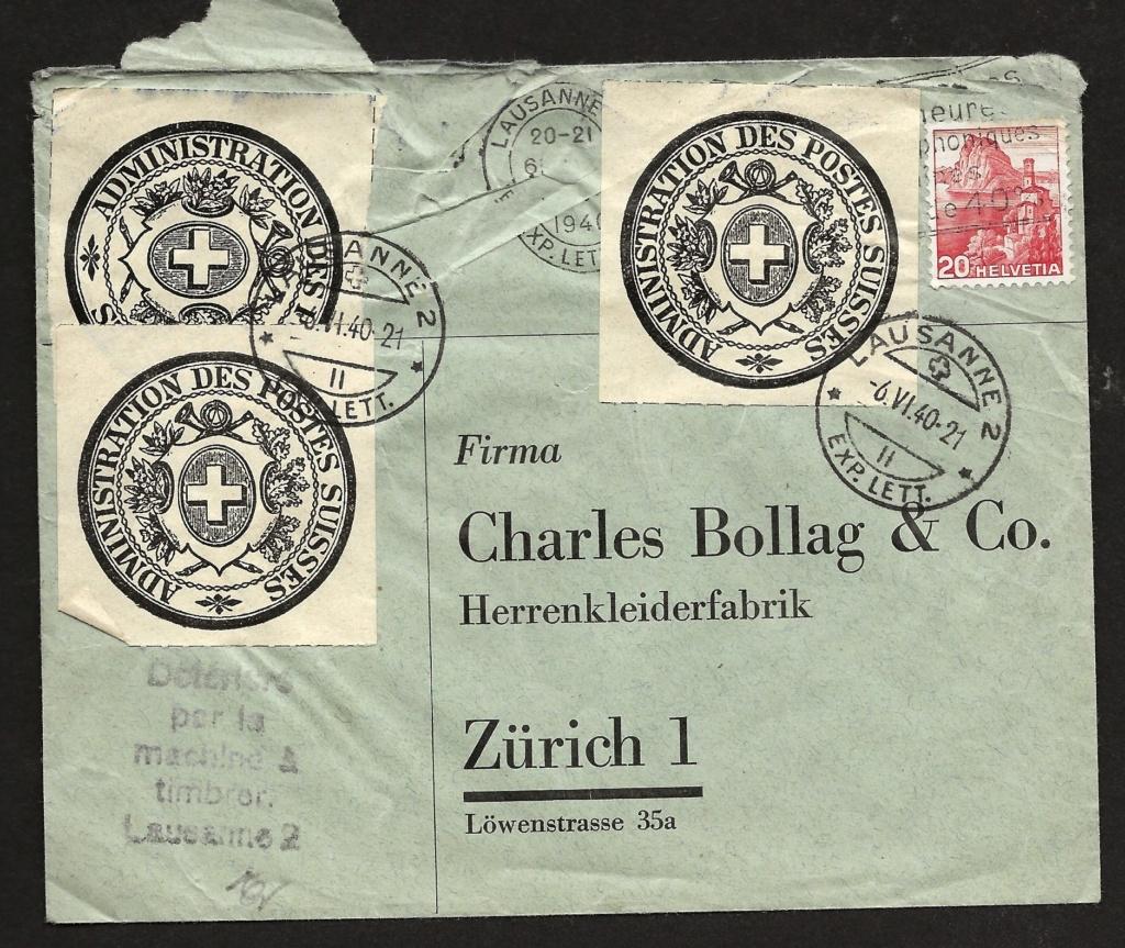 Administration des Postes Suisses Image17