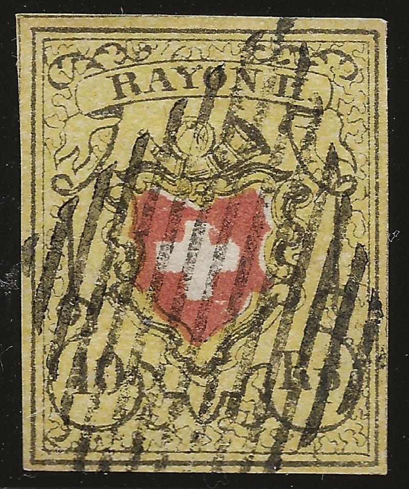 SBK 16II (Mi 8II) Bestimmung: Rayon II ohne Kreuzeinfassung Image20