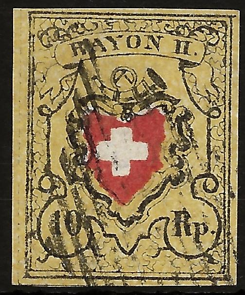 SBK 16II (Mi 8II) Bestimmung: Rayon II ohne Kreuzeinfassung Image_13