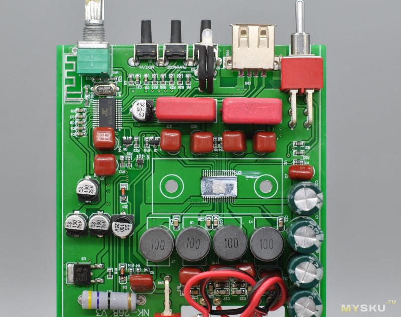 Modifiche NIKKODO NK-368R USB e bluetooth (TPA 3116D2)  4e23e712