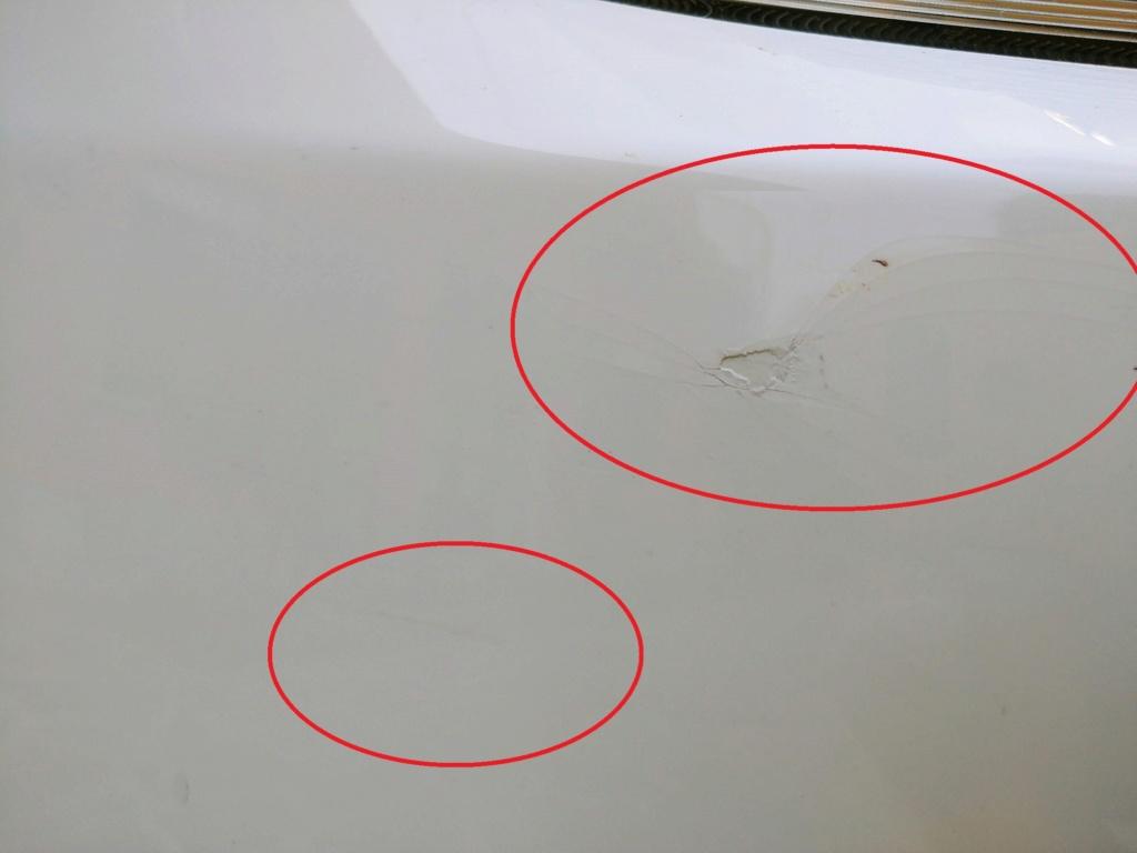 AIUTO: Rimuovere segni di un incidente 20180914