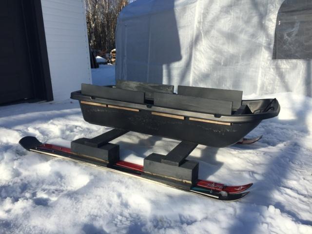 Fabriquer un traîneau pour cueillir l'eau d'érable 5084d110