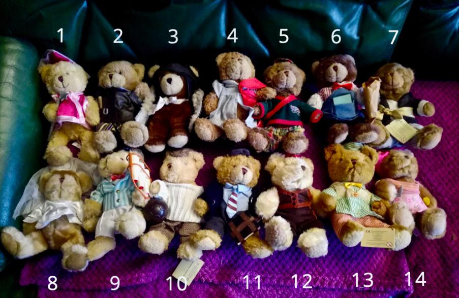 50 jolis ours à vendre pour soutenir nos 4 pattes ! 110