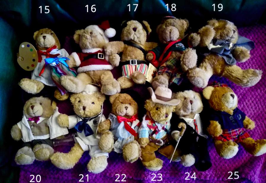 50 jolis ours à vendre pour soutenir nos 4 pattes ! 210