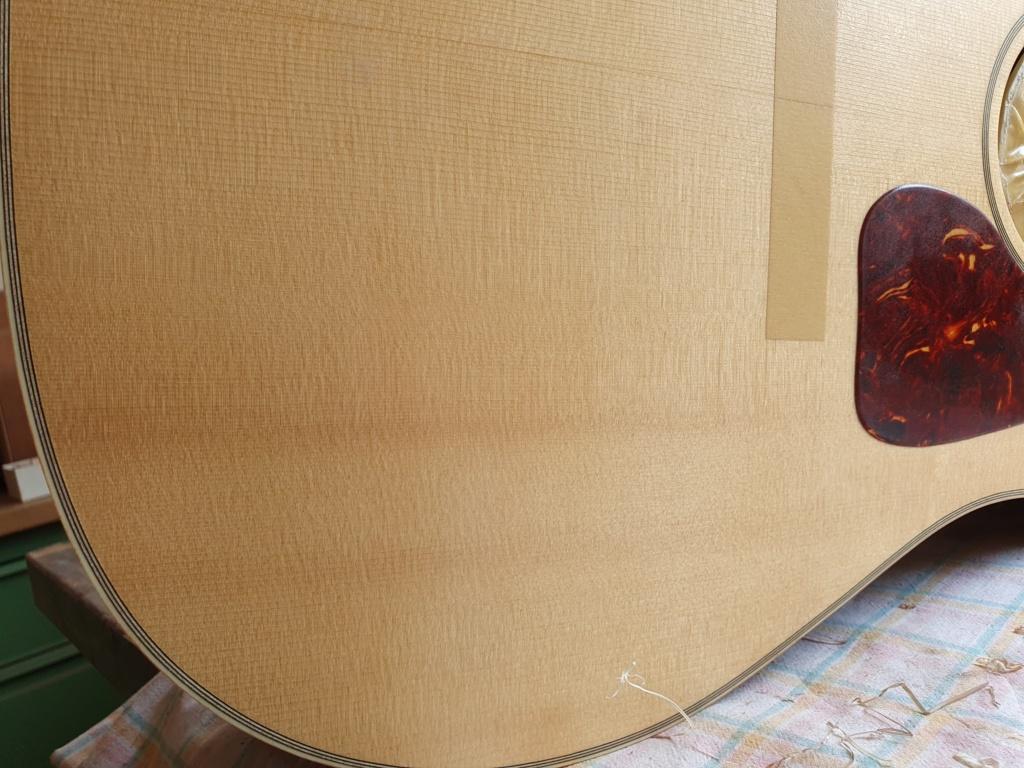 Blazer & Henkes J50  nouvelles photos de la guitare terminée :) 20200815