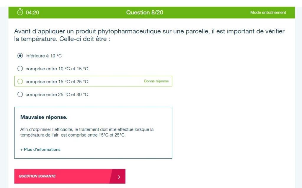 Certiphyto QCM & Bayer Phyto Progress ? 111