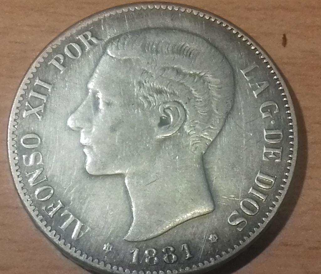 MONEDA 5 PESETAS 1899 NO SE SI ES FALSA DE EPOCA... 20181225
