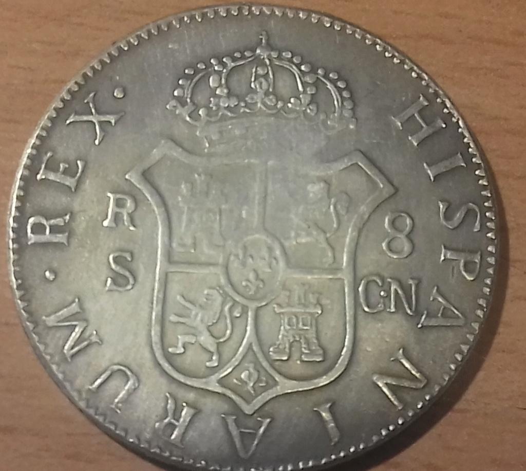 8 Reales 1792. Carlos IV. 1792 20181226