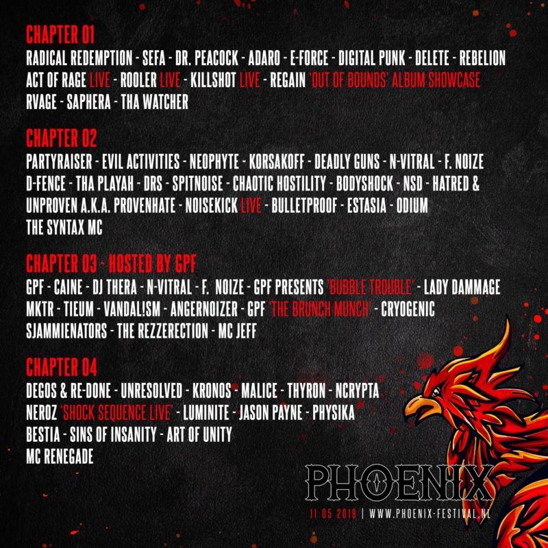 Phoenix - The Hardest Outdoor Festival - 11 Mai 2019 - De Rekken - Nuland - NL 52016110