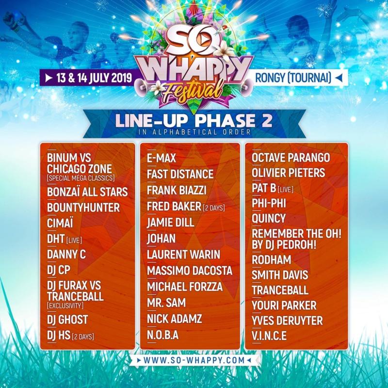 SO W'Happy Festival - 13 Juillet 2019 - Chemin d'Howardries - Rongy - BE 55704710