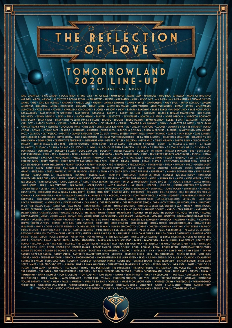 TOMORROWLAND 2020 - Weekend 1 - 16-20 Juillet 2020 - Boom - Belgique 84123511