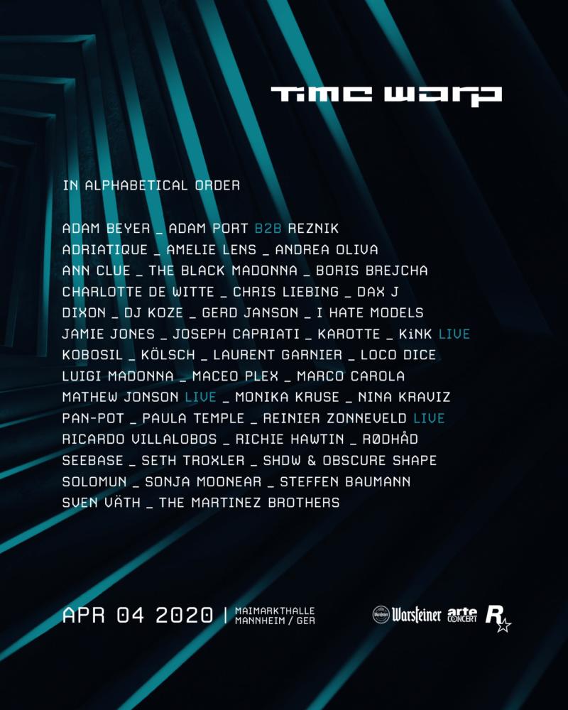 TIME WARP 2020 - 4 Avril 2020 - Maimarkt Mannheim - Allemagne 86445610