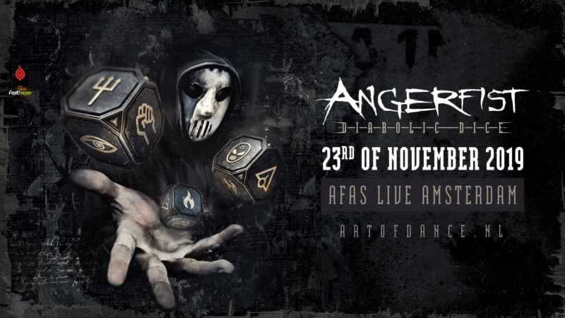Angerfist - Diabolic Dice - Samedi 23 Novembre 2019 - AFAS Live - Amsterdam - NL Angerf10