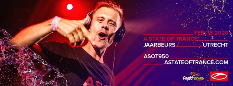 A STATE OF TRANCE 950 - 15 Fevrier 2020 - Jaarbeurs - Utrecht - NL Asot9510
