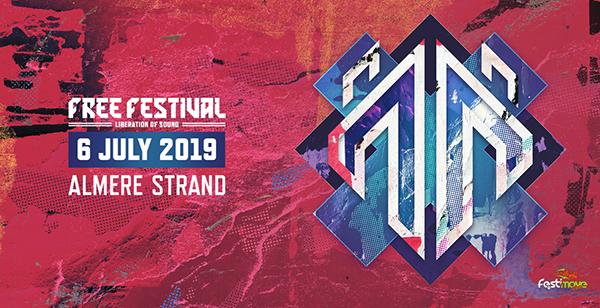 Free Festival - 6 Juillet 2019 - Almere Strand - NL Banfre10