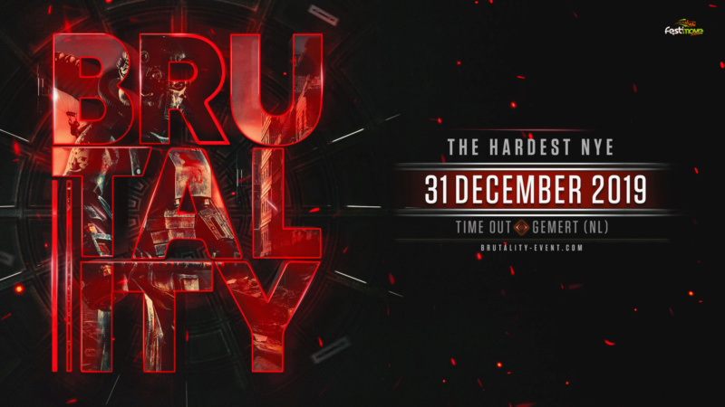 Brutality - The Hardest NYE - Mardi 31 Décembre 2019 - Time Out - Gemert - NL Brutal10