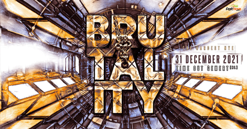 Brutality - The Hardest NYE - Vendredi 31 Décembre 2021 - Time Out - Gemert - NL Brutal11