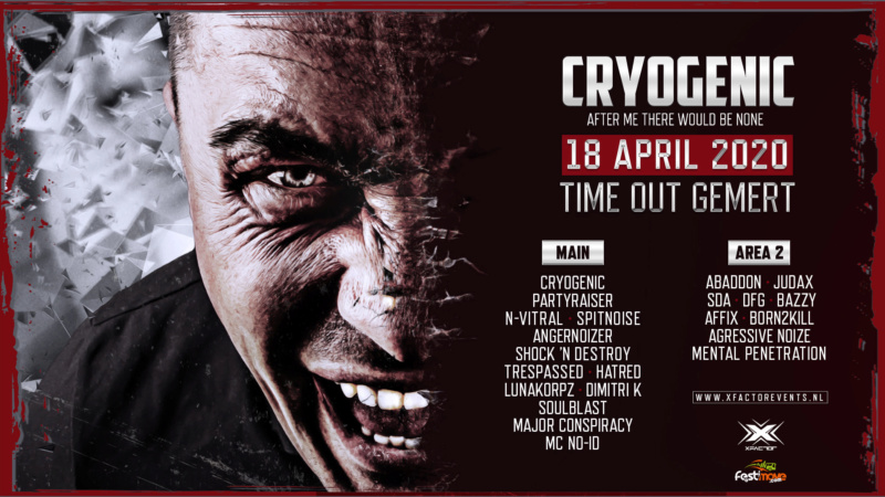 Cryogenic - After me there would be None - 18 Avril 2020 - Time Out - Gemert - NL Cryoge10