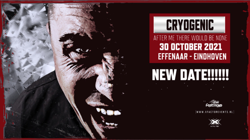 Cryogenic - After me there would be None - 30 octobre 2021 - Effenaar - Eindhoven - NL Cryoge11