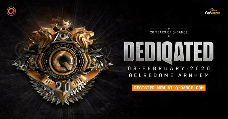 DEDIQATED - Les 20 ans de Q-Dance - 8 Février 2020 - Gelredome - Arnhem - NL Dediqa10