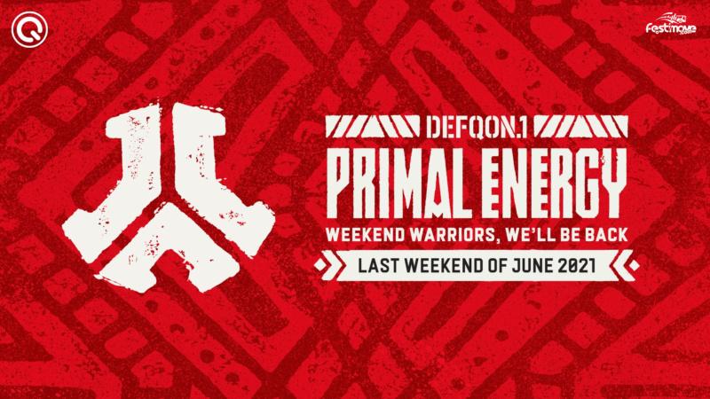DEFQON.1 - Primal Energy - 25 au 28 Juin 2021 - Evenemententerrein Walibi World - Biddinghuizen - NL Defqon12