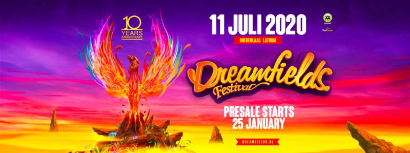 DREAMFIELDS FESTIVAL - Samedi 11 Juillet 2020 - Recreatieterrein Rhederlaag, Lathum - NL Dreamf10