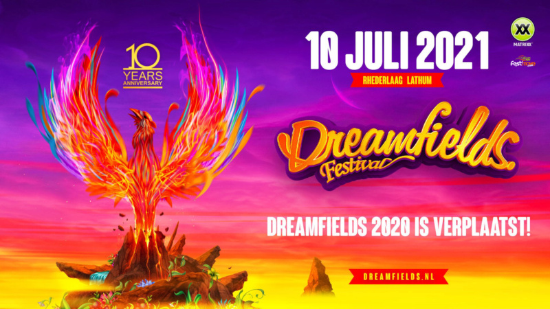 DREAMFIELDS FESTIVAL - Samedi 10 Juillet 2021 - Recreatieterrein Rhederlaag, Lathum - NL Dreamf11