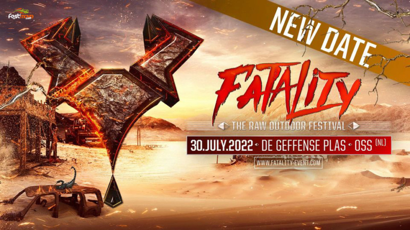 Fatality - The RAW Outdoor Festival - 30 Juillet 2022 - Geffense Plas - Oss - NL Fatali14