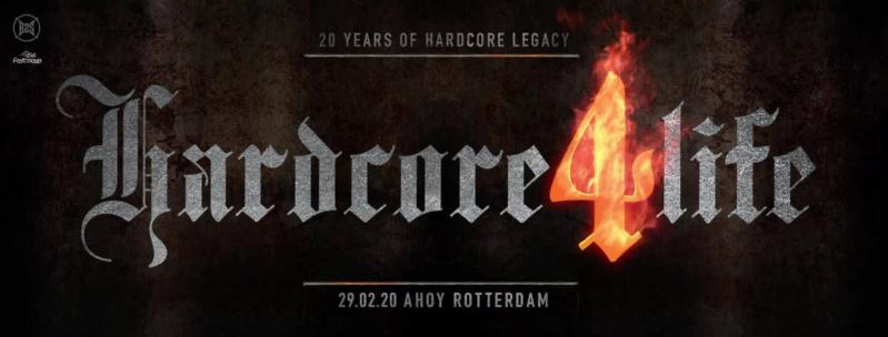 Hardcore4life - 20 Years Of Hardcore Legacy - 29 Février 2020 - Rotterdam Ahoy - NL Hardco10