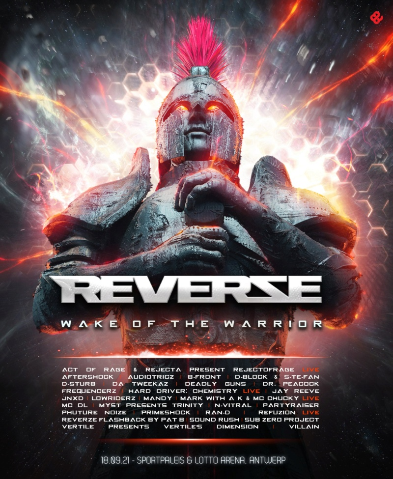 REVERZE - 12 Mars 2022 - Sportpaleis/Lotto Arena - Anvers - BE Lineup12