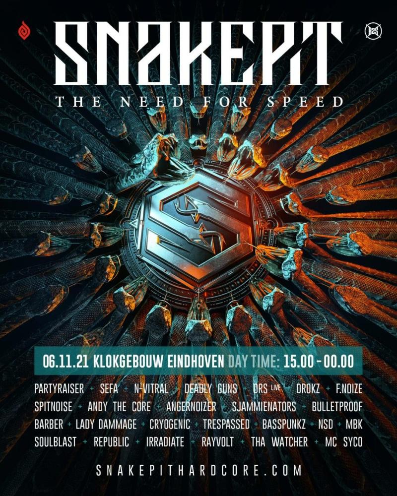 Snakepit - 6 Novembre 2021 - Klokgebouw - Eindhoven - NL Lineup13