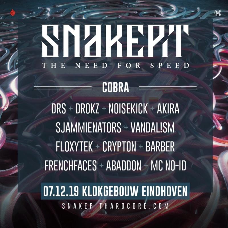 Snakepit - 7 Décembre 2019 - Klokgebouw - Eindhoven - NL Lu-cob10